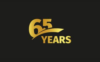 65 jaar jubileum
